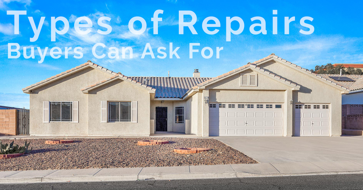 What Repairs Buyers Can Ask For
