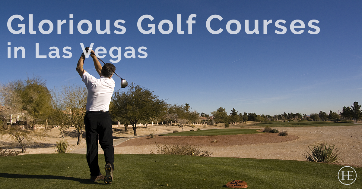 Glorious Golf Courses in Las Vegas