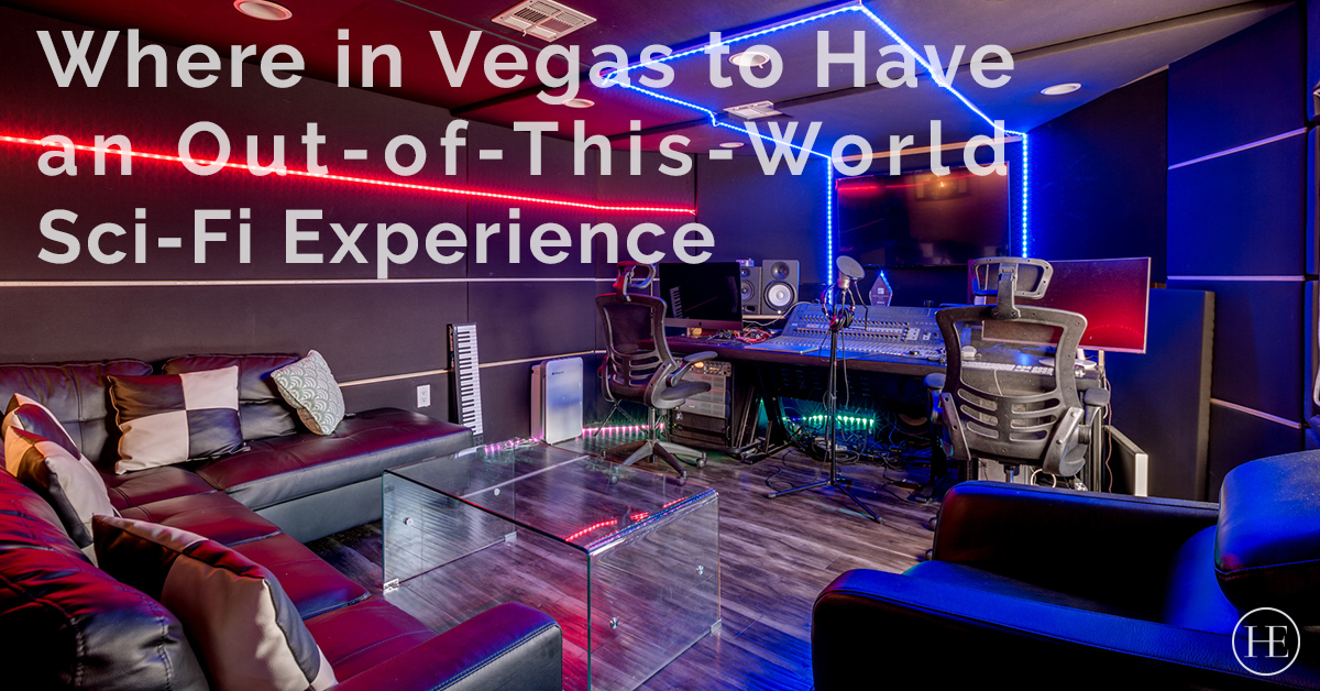 Things to Do in Las Vegas: Where to Have an Out-of-This-World Sci-Fi Experience and Themed Drinks